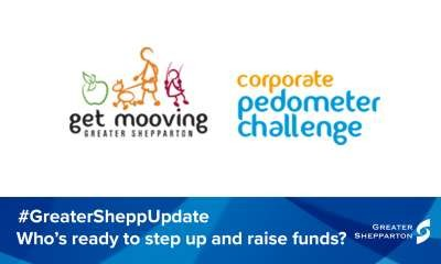Corporate Pedometer Challenge to improve health and raise funds
