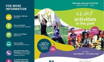 2018 – 2019 Activities in the Park Program Officially Launched
