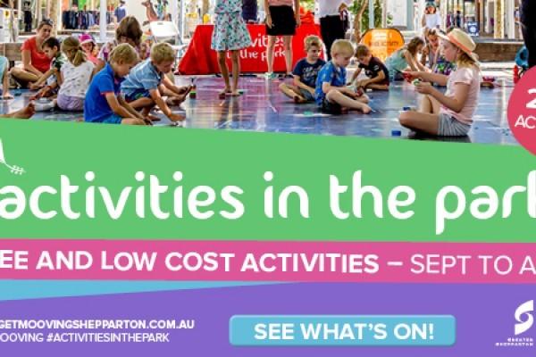 Activities in the Park Website Sliders 1