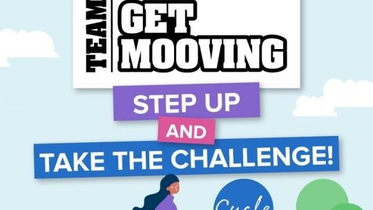 The Team Get Mooving challenge is here